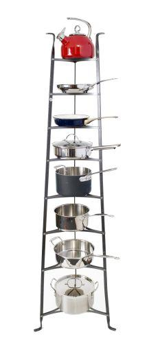 Enclume CWS8 HS 8-Tier Cookware Stand Hammered Steel