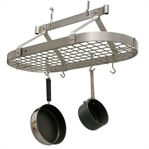 Enclume PR16bwg SS Three Foot Oval w/ Grid Stainless Steel