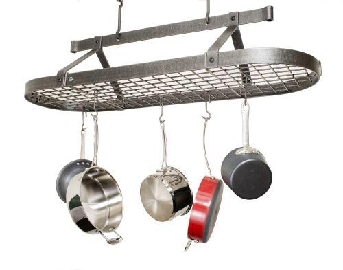 Enclume PR16cwg HS Four Foot Oval w/ Grid Hammered Steel