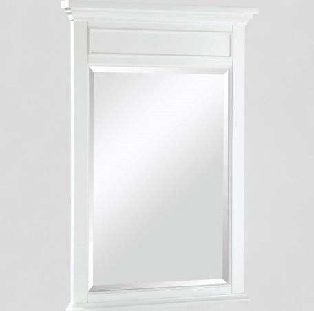 "Fairmont Designs 1502-M24 Framingham 24"" Mirror Polar White"