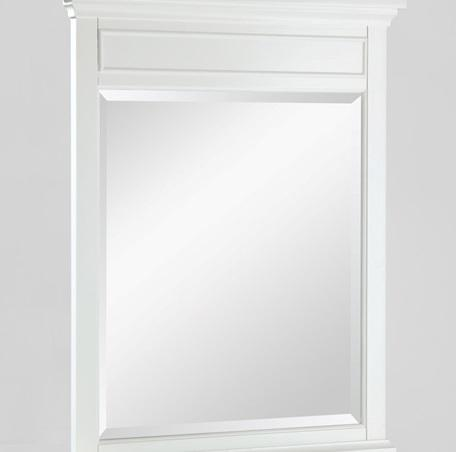 "Fairmont Designs 1502-M28 Framingham 28"" Mirror Polar White"