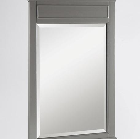 "Fairmont Designs 1504-M24 Smithfield 24"" Mirror Medium Gray"