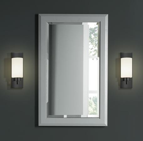"Fairmont Designs 1510-M20 Charlottesville 20"" Mirror - Light Gray"