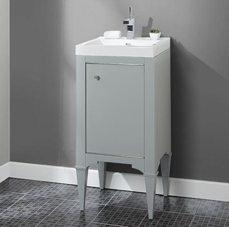 "Fairmont Designs 1510-V2118A Charlottesville 21x18"" Vanity - Light Gray"