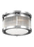 Feiss FM516CH Paulson 2 - Light Flushmount Chrome