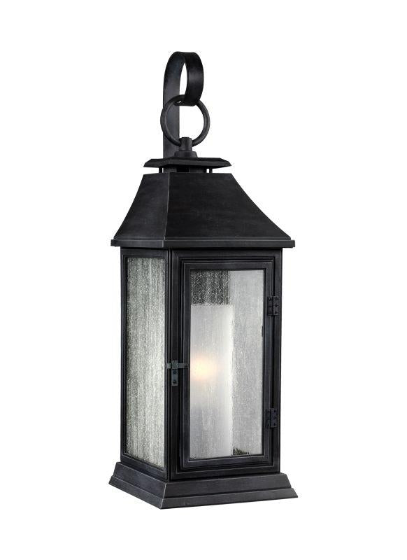 Feiss OL10600DWZ Shepherd 1 - Light Outdoor Sconce Dark Weathered Zinc