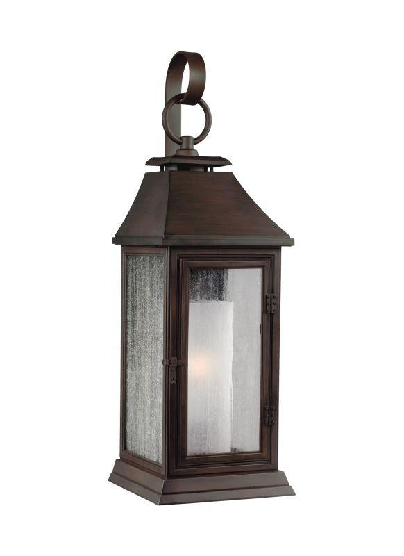 Feiss OL10600HTCP Shepherd 1 - Light Outdoor Sconce Heritage Copper