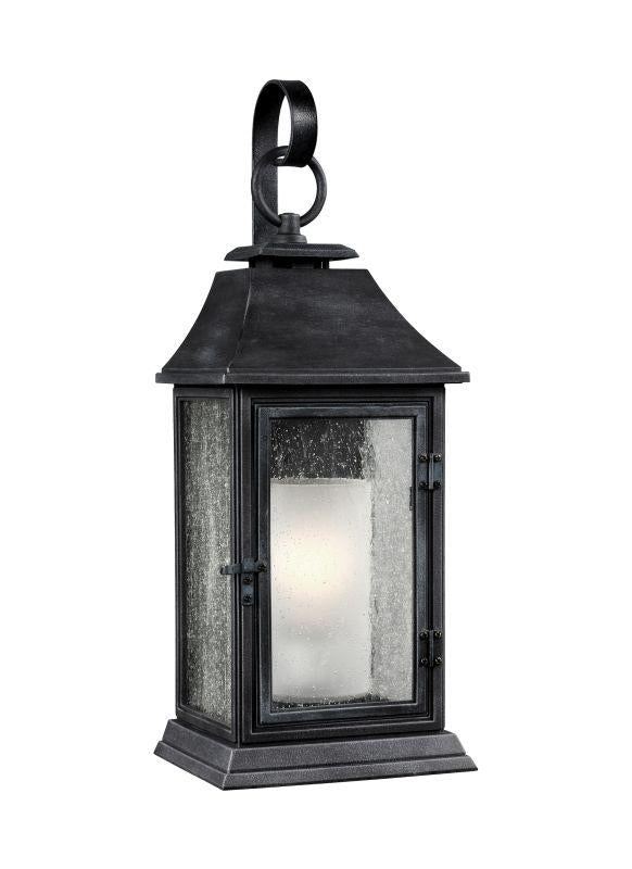 Feiss OL10602DWZ Shepherd 1 - Light Outdoor Sconce Dark Weathered Zinc