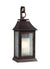 Feiss OL10602HTCP Shepherd 1 - Light Outdoor Sconce Heritage Copper