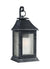 Feiss OL10603DWZ Shepherd 1 - Light Outdoor Sconce Dark Weathered Zinc