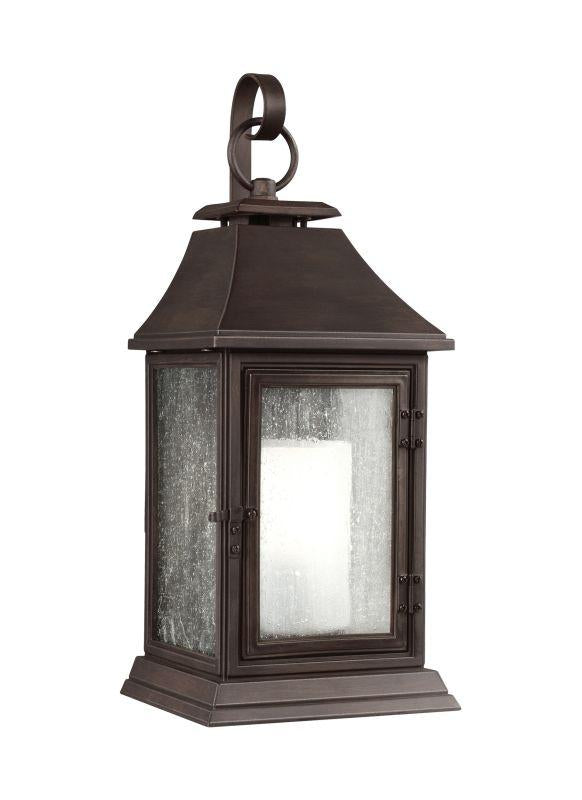Feiss OL10603HTCP Shepherd 1 - Light Outdoor Sconce Heritage Copper