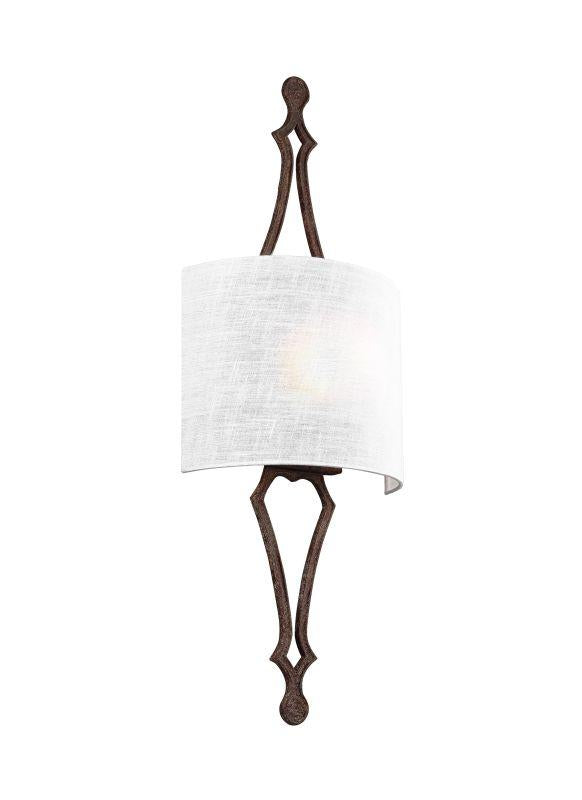 Feiss WB1859WI Tilling 1 - Light Wall Sconce Weathered Iron