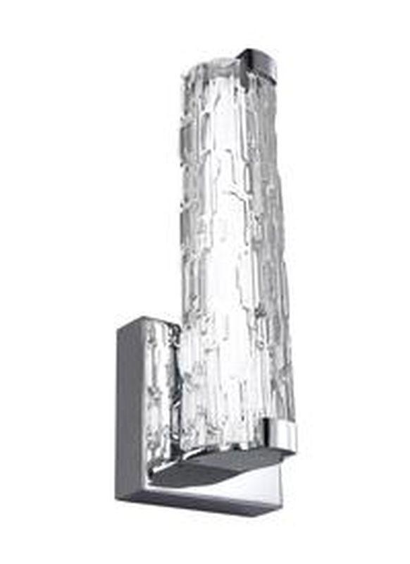 "Feiss WB1871CH-L1 Cutler 13"" LED Wall Sconce Chrome"