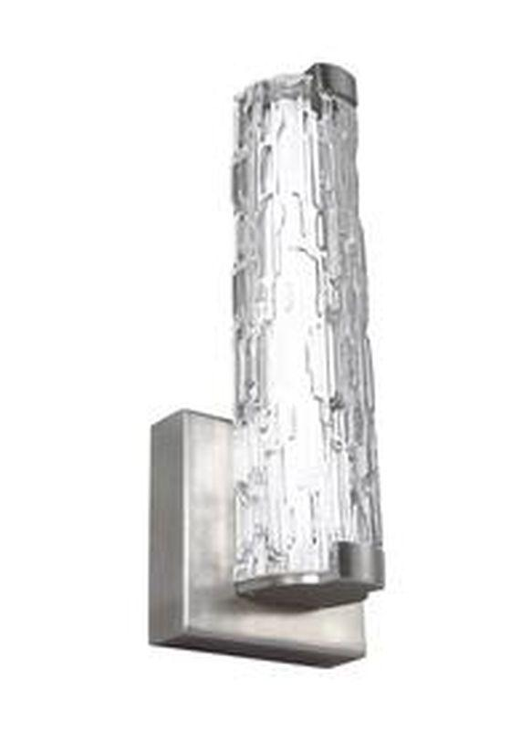"Feiss WB1871SN-L1 Cutler 13"" LED Wall Sconce Satin Nickel"