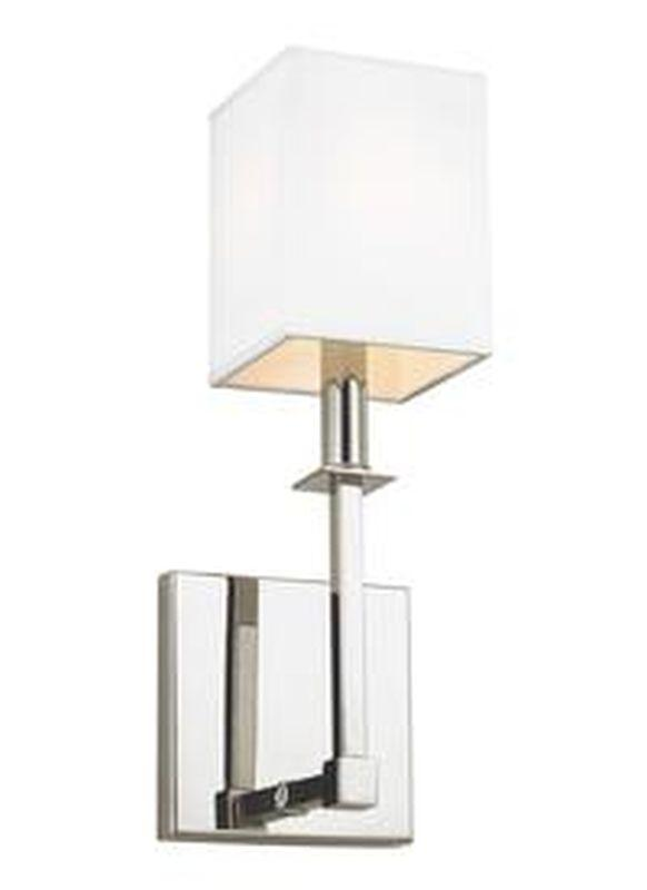 Feiss WB1872PN Quinn Light Wall Sconce Polished Nickel