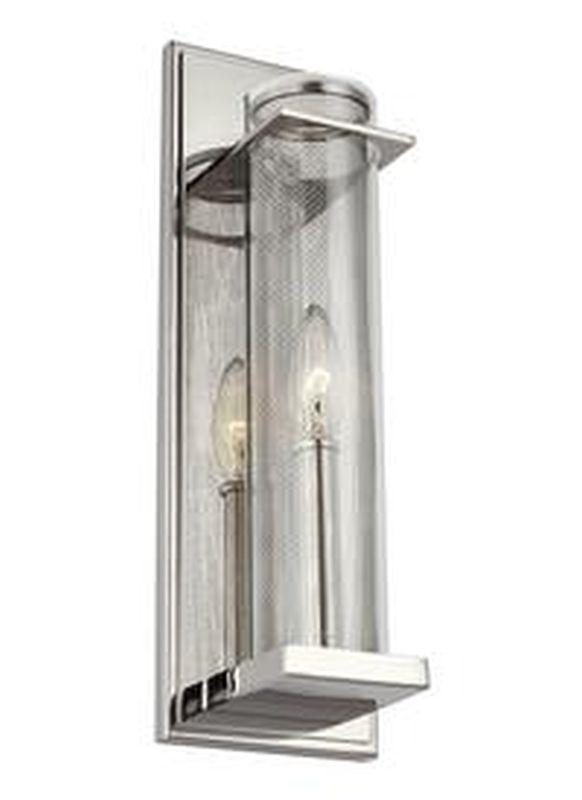 Feiss WB1874PN Silo Light Wall Sconce Polished Nickel
