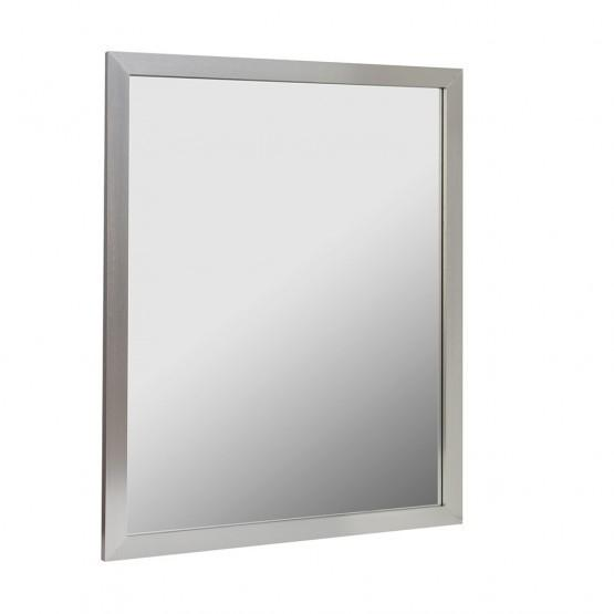 Foremost AM3036-BN 30X36 Aluminum Framed Mirror Brushed Nickel