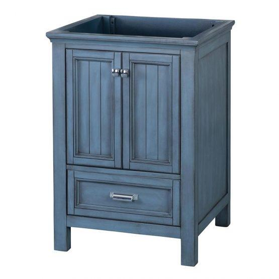 "Foremost BABV2422D Brantley 24"" Vanity Washed Blue"