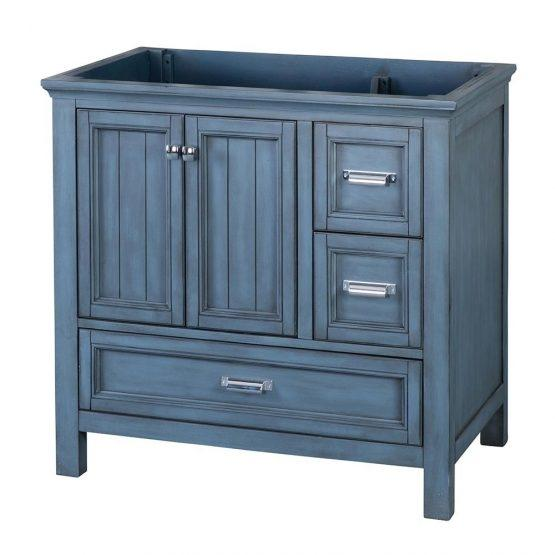 "Foremost BABV3622D Brantley 36"" Vanity Washed Blue"