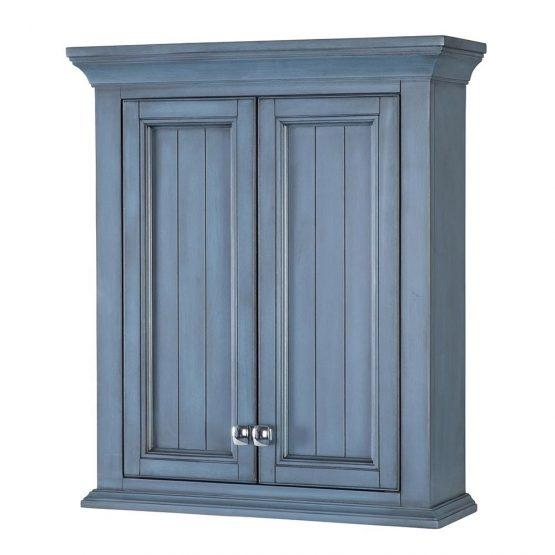 Foremost BABW2428 Brantley Wall Cabinet Washed Blue