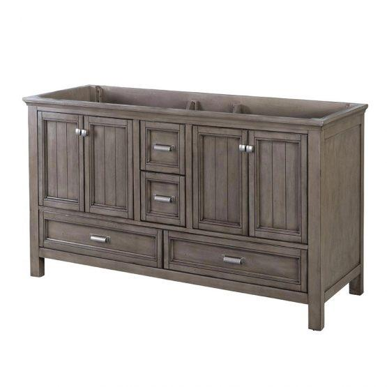 "Foremost BAGV6022D Brantley 60"" Vanity Distressed Grey"