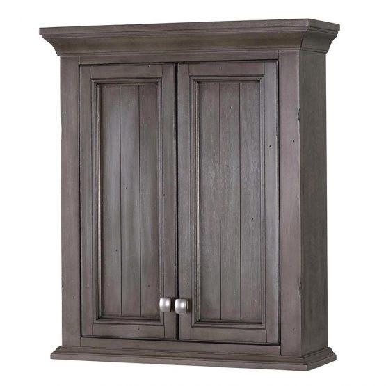 Foremost BAGW2428 Brantley Wall Cabinet Distressed Grey