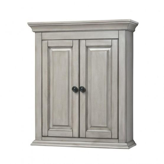 Foremost CNAGW2427 Corsicana Wall Cabinet Antique Grey