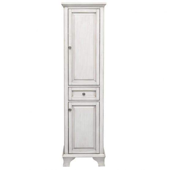 Foremost CNAWL1970 Corsicana Linen Cabinet Antique White