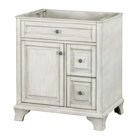 "Foremost CNAWV3022D Corsicana 30"" Vanity Antique White"