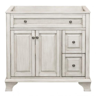 "Foremost CNAWV3622D Corsicana 36"" Vanity Antique White"