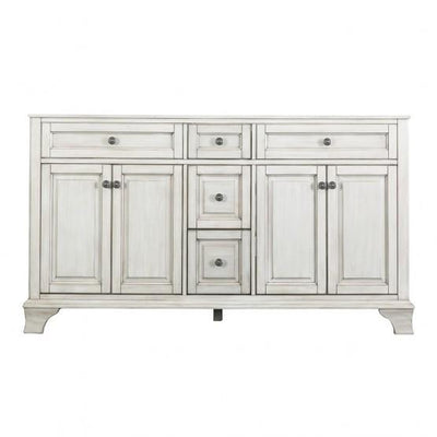 "Foremost CNAWV6022D Corsicana 60"" Vanity Antique White"