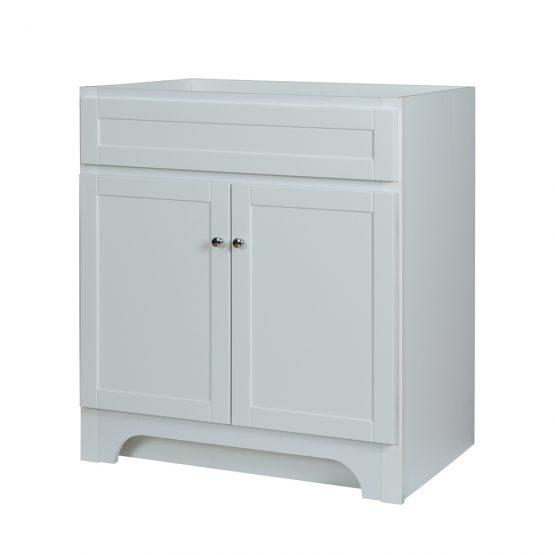 "Foremost WRWV3022 Worthington 30"" White Laundry Cabinet"