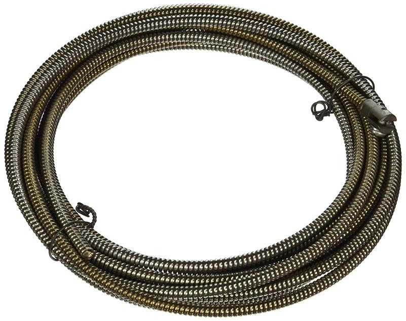 "General Wire 25HE1-AC 5/16"" x 25' Electric Machine Replacement Cable with Female Connector"