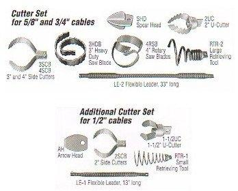 General Wire COCS Thirteen Piece Cutter Set for PS92 Package (includes: SRCS, LE-1, AH, 1-1/2UC, 2SCB, RTR-1)