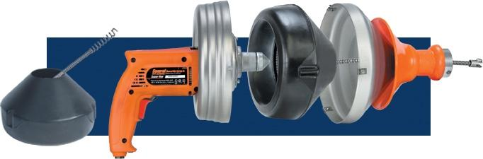 "General Wire SV-A Super-Vee Package w/ 25HE1 (25' x 1/4"") & 25HE2 (25' x 3/8"") Cables, HECS Cutter Set, Extra Cartridge"
