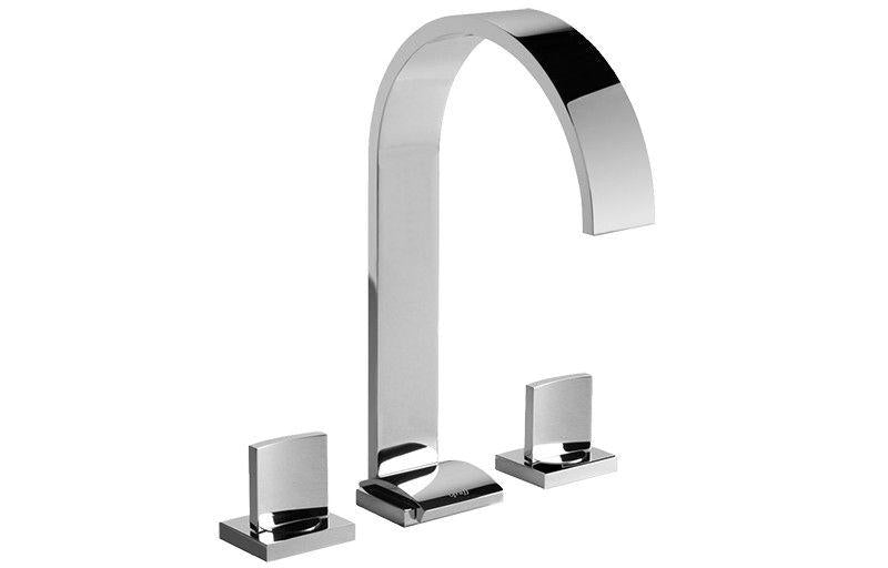 Graff Sade G-1811-SN-T Sade Widespread Lavatory Faucet - Spout Only Steelnox (Satin Nickel)