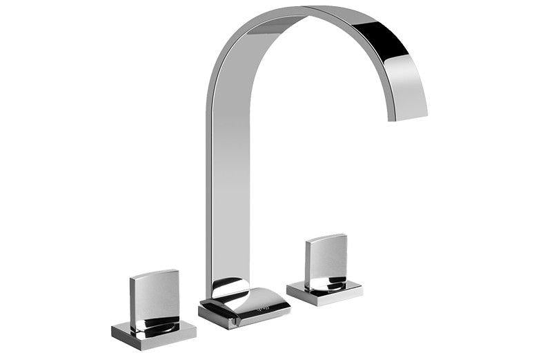 Graff Sade G-1812-SN-T Sade Widespread Lavatory Faucet - Spout Only Steelnox (Satin Nickel)