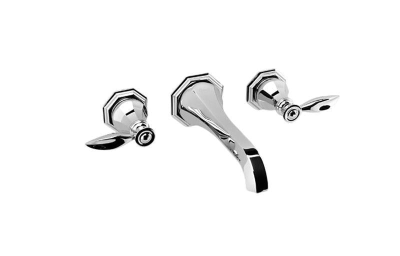 Graff Topaz G-1930-LM14-PC-T Topaz Wall-Mounted Lavatory Faucet - Trim Only Polished Chrome