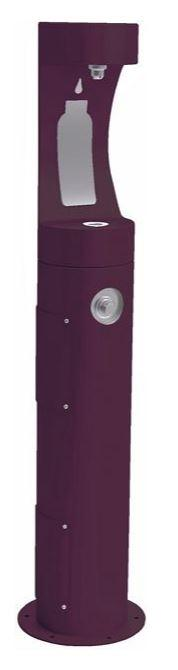 HALSEY TAYLOR 4400BFFRKPUR PEDESTAL BOTTLE FILLER, FR, PURPLE