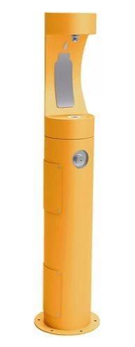 HALSEY TAYLOR 4400BFFRKYLW PEDESTAL BOTTLE FILLER, FR, YELLOW