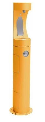 HALSEY TAYLOR 4400BFYLW PEDESTAL BOTTLE FILLER, YELLOW