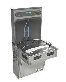 HALSEY TAYLOR 7240000741-HTHB (CLR ONLY) HYDROBOOST-HAC ADA FILTERED WATER COOLER AMBIENT, COOLER ONLY