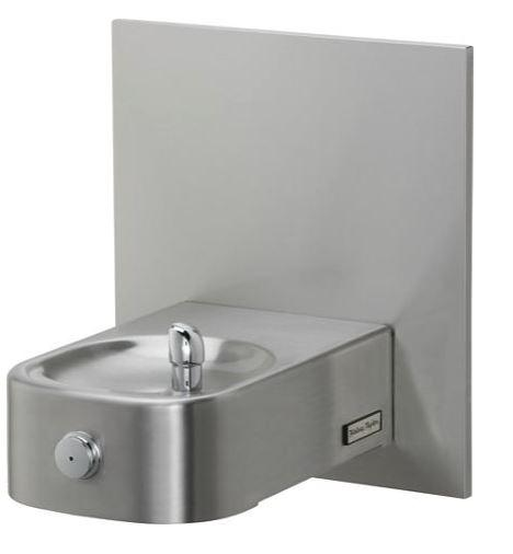 HALSEY TAYLOR 7439004683 Contour Heavy-Duty Single Fountain, Non-Filtered Non-Refrigerated Stainless
