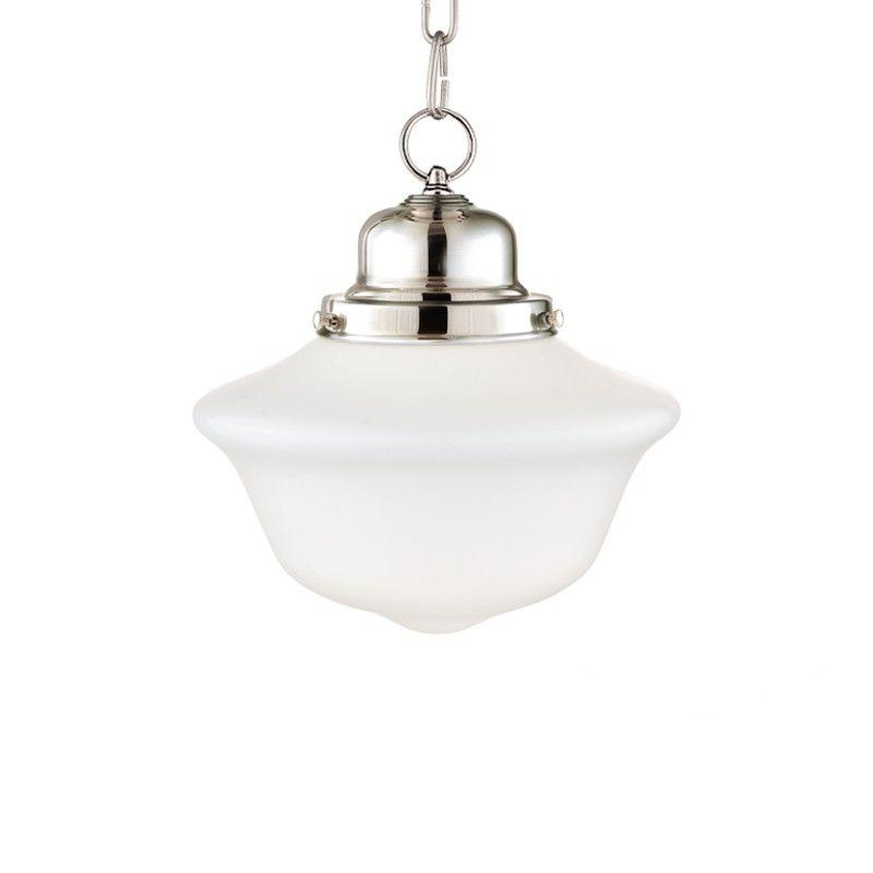 Hudson Valley 1609-PN EDISON COLLECTION 1 LIGHT PENDANT Polished Nickel
