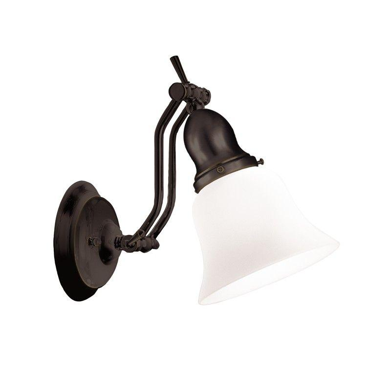 Hudson Valley 341-OB HADLEY 1 LIGHT BATH BRACKET Old Bronze
