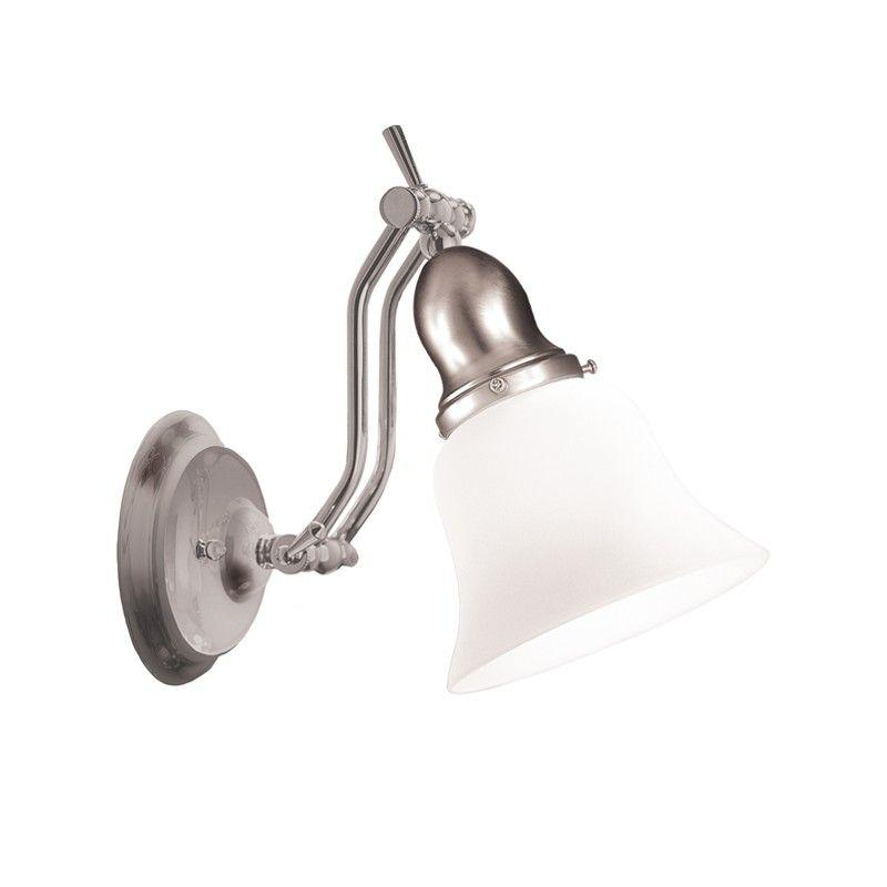 Hudson Valley 341-SN HADLEY 1 LIGHT BATH BRACKET Satin Nickel