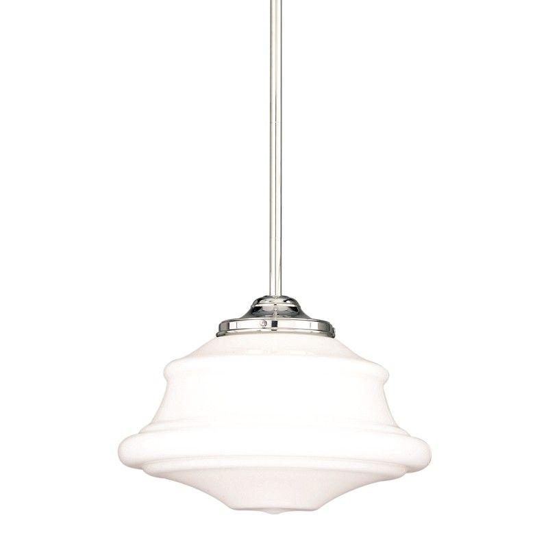 Hudson Valley 3416-PN PETERSBURG 1 LIGHT PENDANT Polished Nickel