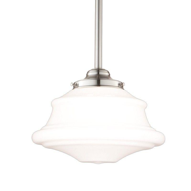 Hudson Valley 3416-SN PETERSBURG 1 LIGHT PENDANT Satin Nickel
