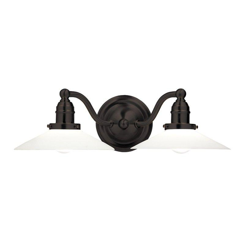 Hudson Valley 3912-OB HADLEY 2 LIGHT BATH BRACKET Old Bronze