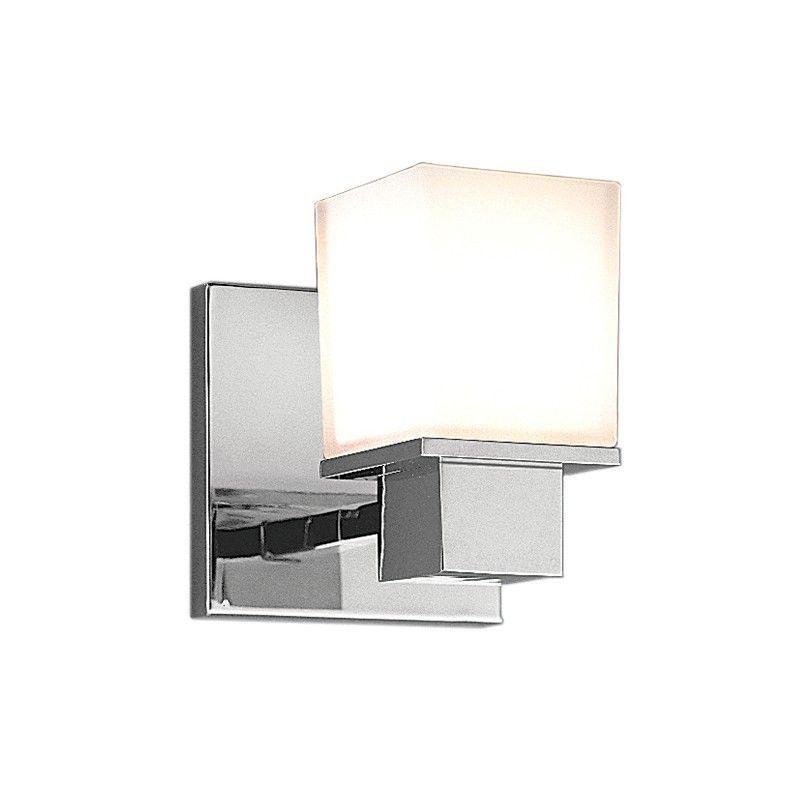Hudson Valley 4441-PC MILFORD 1 LIGHT BATH BRACKET Polished Chrome